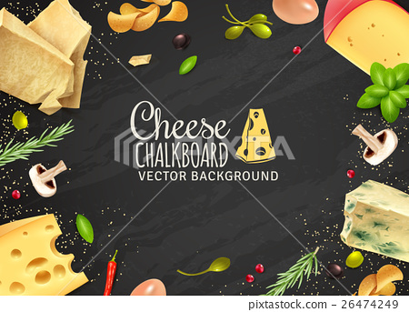 Delicious Cheese Background 26474249