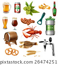 icon, collection, beer 26474251