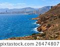 Benidorm city coast view (Spain). 26474807