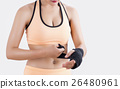 Body part of boxing Woman 26480961