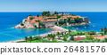 Island in mediterranean sea. 26481576