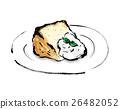 雪纺蛋糕 26482052