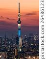 晴空塔 建筑 建筑群 26486123