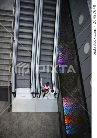escalator and staircase 26487649