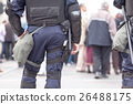 Policeman on duty. Counter-terrorism. 26488175