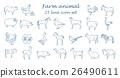 农场 动物 图标 26490611