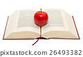 Red apple on book 26493382