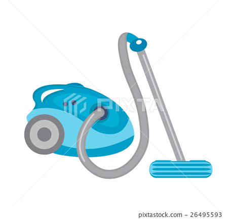 Vacuum cleaner icon vector flat style. isolated on 26495593