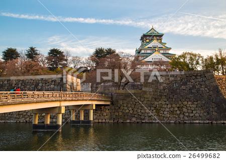 Osaka Castle in Osaka, Japan 26499682