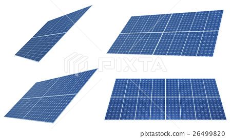 太陽能板 一套 變體 26499820