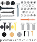 screw vector bolt 26509335