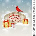 Christmas, cardinal, bird 26509381