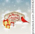 Christmas, cardinal, bird 26509382