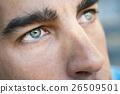 Macro shot of man's eye 26509501