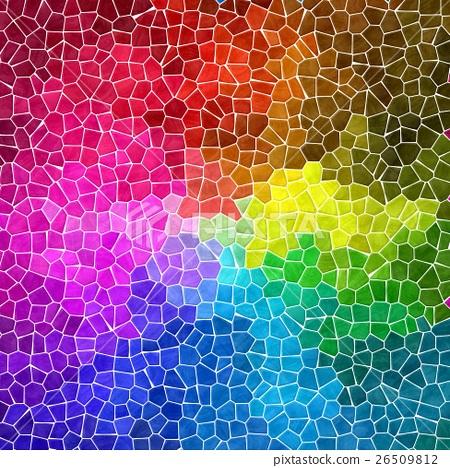 marble mosaic background full spectrum rainbow 26509812