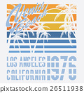 California Venice beach typography, t-shirt 26511938