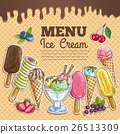 ice cream background 26513309