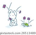 rabbit chelonian tortoise 26513489