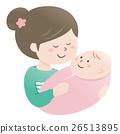Mom and baby (hug) 26513895