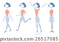 woman Pants style In Smart form walk Run Jump 26517085