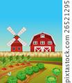 farm, countryside, scene 26521295