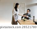 食事の準備をする女性 26521780