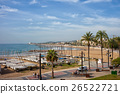 Sitges Town at Mediterranean Sea 26522721