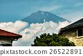 Mt.Fuji over Fujinomiya, Shizuoka, Japan 26522891