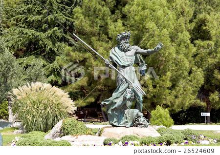 """Sculpture of the god of the seas """"Poseidon"""". 26524609"""