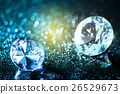 colorful diamonds and bokeh background 26529673