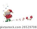 サンタクロース~雪とキノコ 26529708