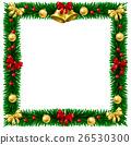Christmas Wreath Border Frame 26530300