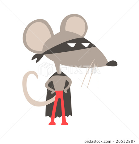 Rat Animal Dressed As Superhero With A Cape Comic 26532887