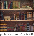 Antique book on a shelf 26539986