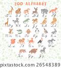 animal, letter, alphabet 26548389