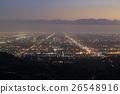 로스 앤젤레스, 캘리포니아의 저녁 풍경 26548916
