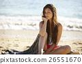 女性 海灘 男式泳褲 26551670