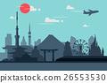 日本 东京 矢量 26553530