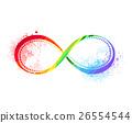rainbow symbol of infinity 26554544