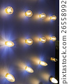 Lamps of different sizes and shapes. A booth to 26558992