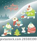 christmas, polar, bear 26560390