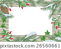Vector Frame with Pine Tree, Sweetbrier Brunches  26560661