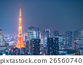 Night view of Tokyo 26560740