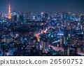 Night view of Tokyo 26560752