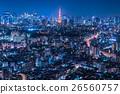 Night view of Tokyo 26560757
