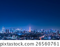 Night view of Tokyo 26560761
