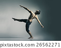 Young and stylish modern ballet dancer 26562271