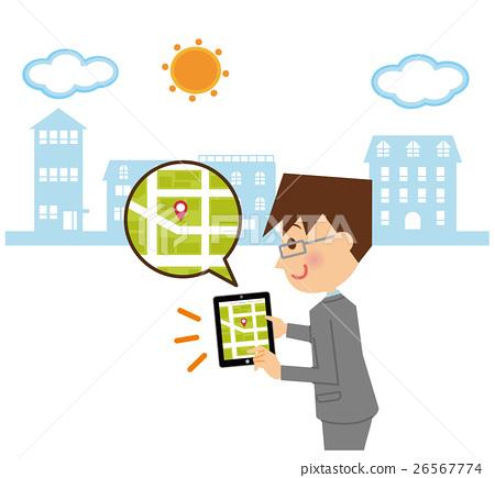便箋簿 平板 平板電腦 26567774