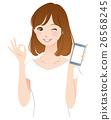 女性 好的 iphone 26568245