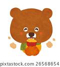 구운 감자를 먹는 곰 26568654